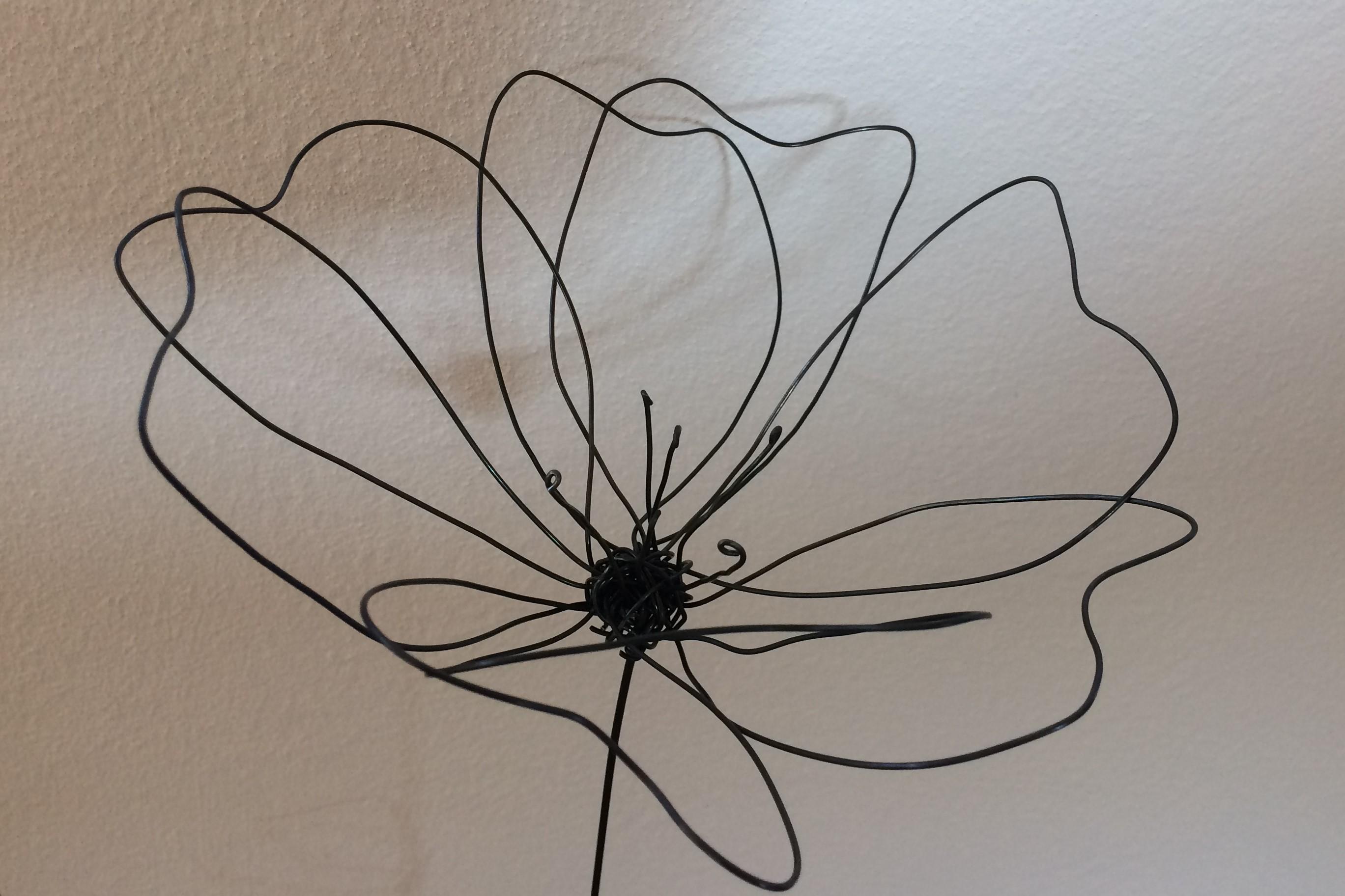 c line atelier floral cr ation fil de fer. Black Bedroom Furniture Sets. Home Design Ideas